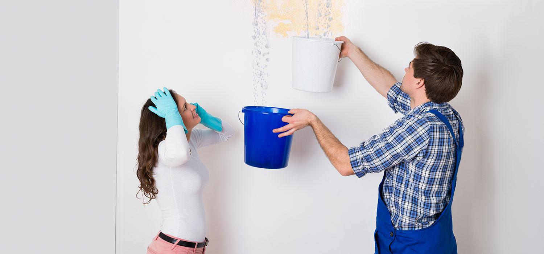Cómo arreglar una gotera en el techo paso a paso