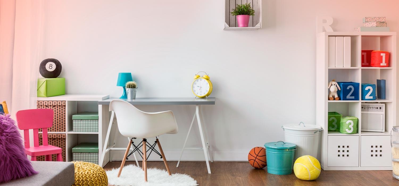 10 consejos para decorar la habitación de los niños