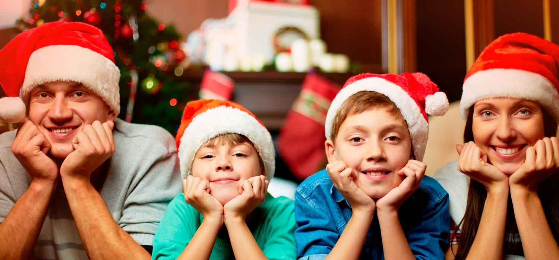 Una Navidad en familia: ¡memorable y segura!